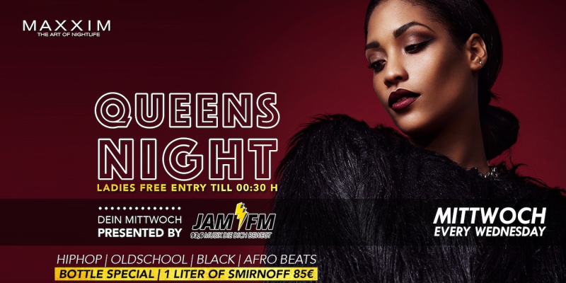 MAXXIM QUEENS NIGHT