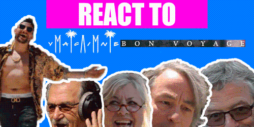 React to Bon Voyage